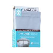 Blue Avocado Grey 15.1l Reusable Bin Bag