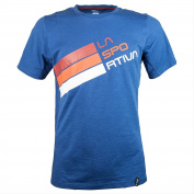 La Sportiva Men's Logo Stripe Climbing T-Shirt – Rock Climbing Shirt for Men