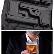 Kitchen Comfort Party Drink Ice Tray Cool Pistol Gun Ice Cube Style Ice Mould Ice Maker Mould Tool Kitchen Accessories