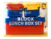 OXFORD Brick Lunch Box (Blue) OX-28
