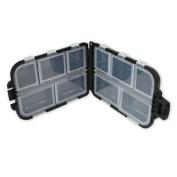 Black Box 10 Compartments Small Size Fishing Hooks Swivels Beads