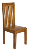 Cube Indian Rosewood Dining Chair / Solid Sheesham Indian Rosewood Dining Room Chair / Modern Dining Room Furniture