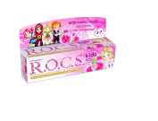 R.O.C.S. Sweet Princess kids toothpaste with mild flavour of rose lokum / ROCS Free of fluoride - 45 gr