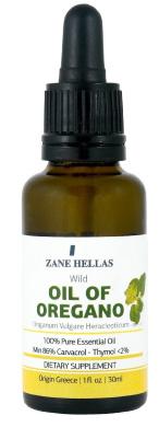 Super 100 Oregano oil by ZANE HELLAS -UNDILUTED 100% Pure Greek Wild Essential Oil of Oregano