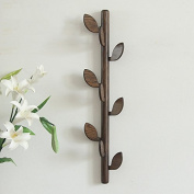 Solid Wood Creative Coat Rack Simple Living Room Wall Hanging Wooden Hanger Entrance Hall Entrance Floor Hanging Hanging Hooks On The Wall