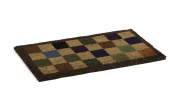 catral 71070052 - Chess Coco Doormat, 70 x 40 cm, Colour Red, Blue and Green
