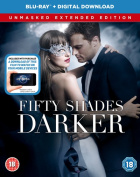 Fifty Shades Darker - The Unmasked Extended Edition [Region B] [Blu-ray]