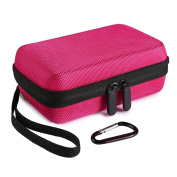 Faylapa Hard EVA Nylon Shockproof Travel Case Travel Bag for ZIP Mobile Printer w/ZINK Zero Ink Printing Technology