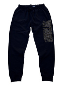 Witness My Fitness Men's Jogger Training Black Pants Running Fitted
