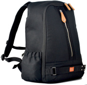 PacaPod Picos Pack Black Shell - Designer Baby Changing Bag - Unisex Luxury Black Backpack Outer Shell