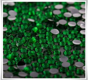 RayLineDo® Pack of 1000 x 3mm Flat Back Rhinestones Diamante Acrylic Gems Scatter Diamonds Wedding Party Table Confetti Crystals Decoration Mixed Peacock Green- High Quality