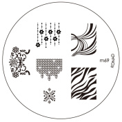 Konad Stamping Image Plate for Nail Art M69