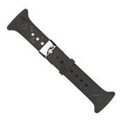 Suunto Women's M-Series M5 Cross Pattern Fe Strap - Black