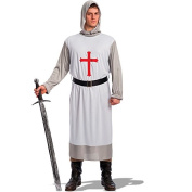 Carnival Toys 80366 - Crusader With Hood And Belt Size M/L