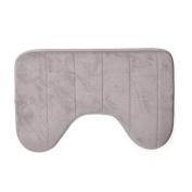 Koly Bathroom Soft U Shaped Bath Mats Anti Slip Home Rugs Carpet 40*60cm