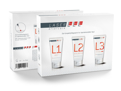 TattooMed Laser Aftercare Complete Care Box for laser treated skin - L1, L2, L3
