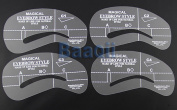 Eyebrow Stencils Templates Shaper 4 Different Designs/Shapes