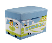 Knorr-Baby 88749 A Designer Storage Box and Seat Around the Airport
