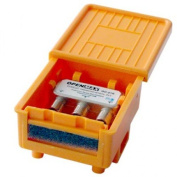 Kabalo DiSEqC 2-Way Switch Combiner Protected Box - GD-21K Orange
