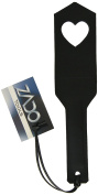 ZADO Leather Paddle with Heart Cut-Out