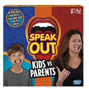 Hasbro C31451020 Speak Out Kids Vs Parents Game
