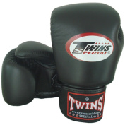 Black Twins Special Muay Thai 8-10-12-14-470ml Leather Boxing Gloves