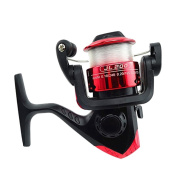 Eizur Fishing Reels Handle Ball Bearings Left/Right Interchangeable Collapsible Spool System High Speed Freshwater Saltwater Spinning Strong Corrosion Resistance For Lake River Carp Pike Coarse 2 Types Optional