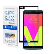 LG V20 Screen Protector, LG V20 Tempered Glass Screen Protector, Thinkcase Tempered Glass Screen Protector with [2.5D Round Edge] [9H Hardness][Scratch-Resistant] for LG V20