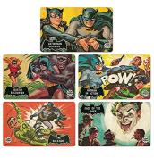 Set of Breakfast boards Batman - Set of 5 DC Comics chopping boards - original licenced product - LOGOSHIRT