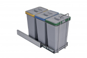 elletipi PF01 34 A3 Pull-Out Waste Bin for Base