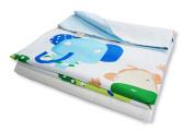 Cotton Flower Toddler Blanket/Quilt (Quilt + Duvet Cover) (Zoo