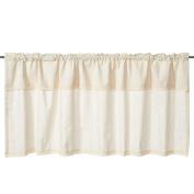 Fashion Cotton Linen Lace Curtain Valances for Kitchen Bath Laundry Bedroom Living Room 140cm x 60cm