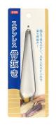 Tokyo Design Studio Fish Bone Tweezer Flat Type 11.8 cm 0335-562, Silver