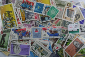 500 Germany stamps in packet