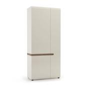 Furniture To Go Chelsea 2-Door Robe, 85 x 195 x 59 cm, White Gloss