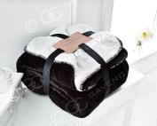 Flannel fleece sherpa throws blankets large soft warm new