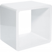 Kare Lounge Cube MDF, White
