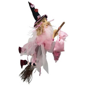 Witches of Pendle - Jazz Witch Flying (Pink) 32cm