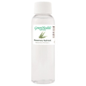 Rosemary Hydrosol - 60ml Plastic Bottle w/ Cap - 100% pure, distilled from essential oil