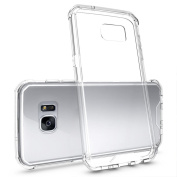 For Galaxy S7 Edge Case, HP95(TM) Transparent Crystal Clear Hard Air Hybrid Case Cover For for Samsung Galaxy S7 Edge