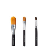 VEGAN LOVE Total Coverage Face Ultimate Concealer Brush Trio, Slope