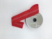 Celebrate IT- Ribbon - Plain ribbon (red) wired side 3.8cm x 4 yds