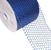 ACI PARTY AND SPIRIT ACCESSORIES Honeycomb/Punchinello Ribbon, Royal
