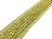 Crafting Beaded Trim Sari Border 3.05 cm Lace Sewing Material Supply By The Yard