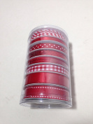 Celebrate It Ribbons Value Pack Red Theme 8 pieces