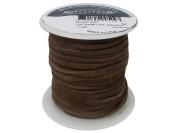 Silver Creek Leather SLC00509 0.2cm X15m Cafe SFT Suede Lace