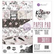 Prima Marketing Double-Sided Paper Pad 30cm x 30cm 30/Pkg