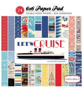Carta Bella Paper Company CBLC65015 Let's Cruise 6x6 Paper Pad