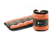 A2ZCare Adjustable Ankle Weight / Wrist Weight Set with Neoprene Padding for Soft, Comfortable Feel