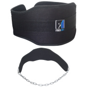 FIT1ST Fitness First Weight Lifting Dipping Belt Chain